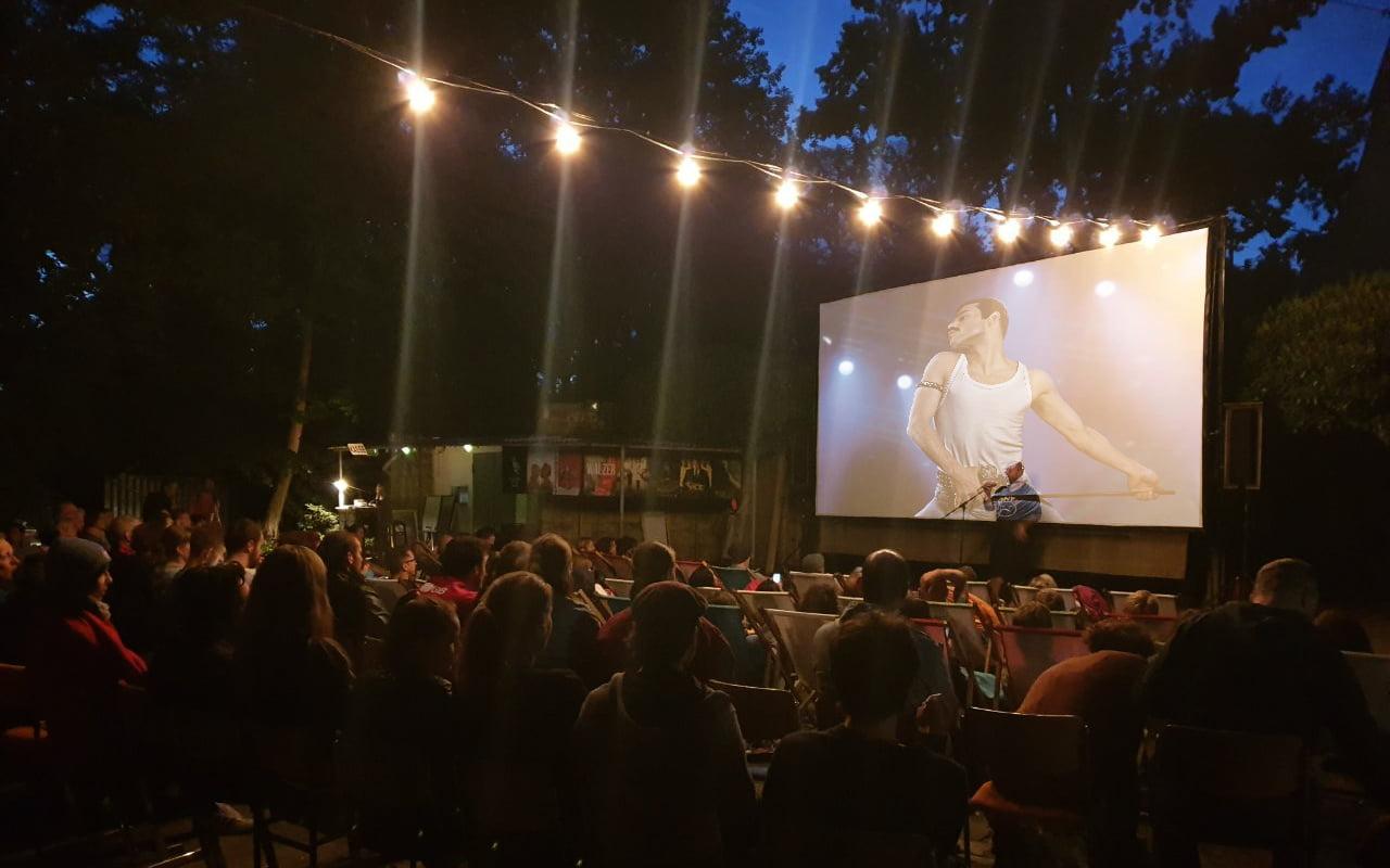 Kinoveranstaltung. Kleine Bühne 2019. © Freund der Freilichbühne Weißensee e.V.